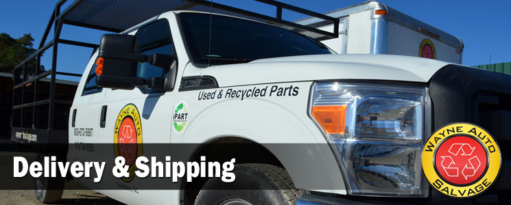 Used Auto Parts Deliveries NC